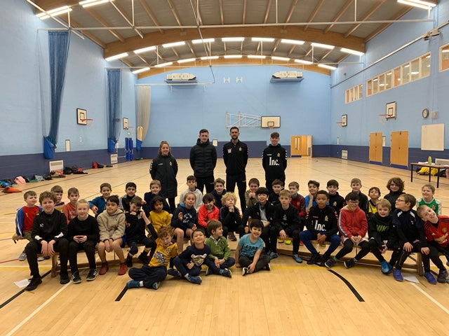 Comberton - October Soccer School
