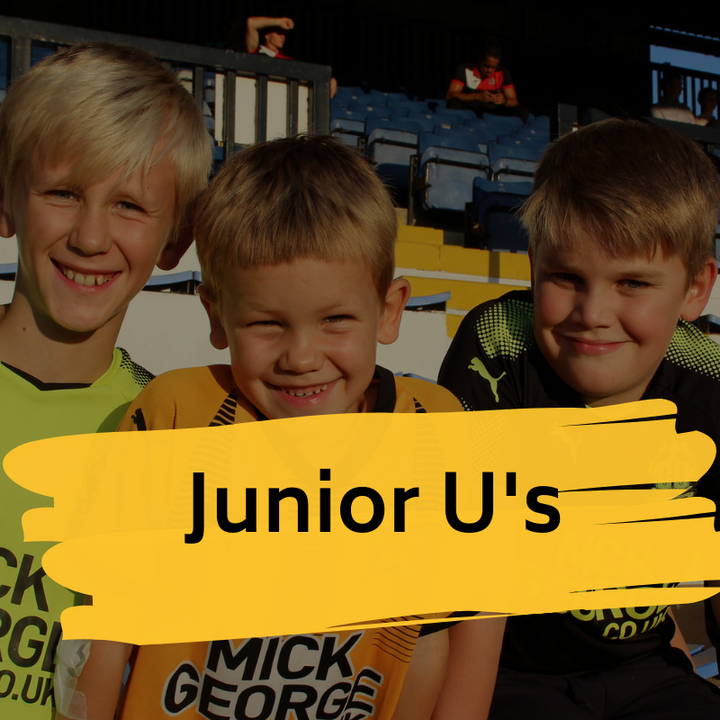 Junior U's Memberships currently on hold due to Covid 19