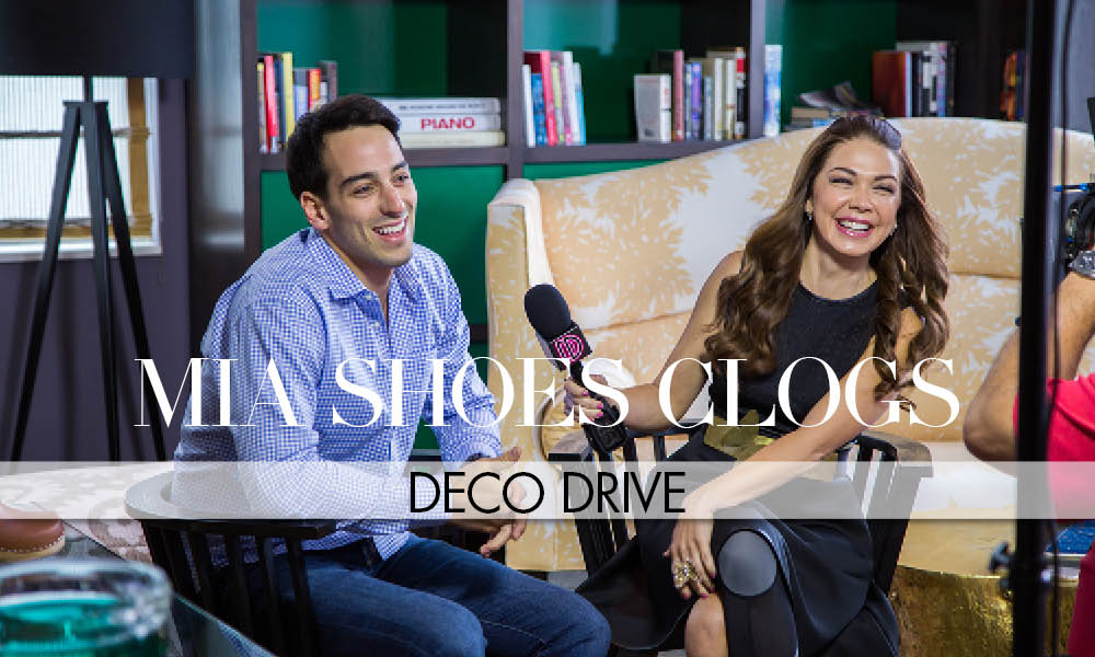 "DECO DRIVE X MIA Shoes ""The Return of the Clogs"""