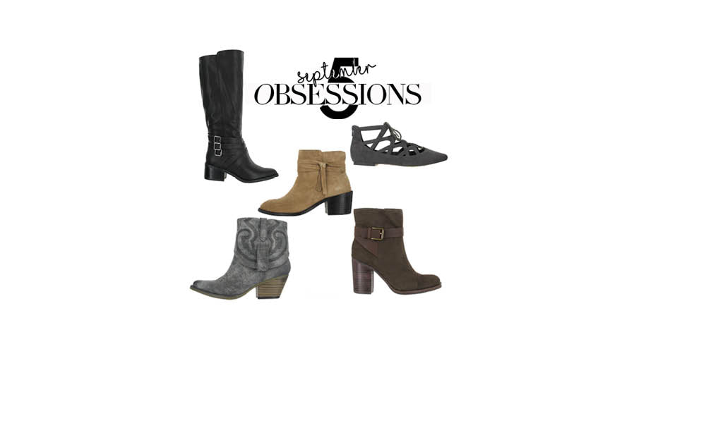 FIVE OBSESSIONS FOR FALL