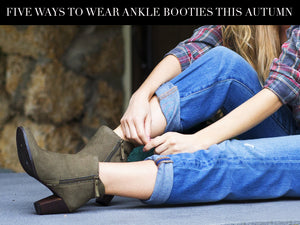 5 Ways To Wear Ankle Booties This Autumn