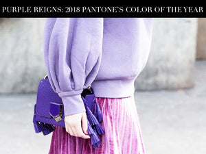 Purple Reigns: 2018 Pantone's Color of the Year