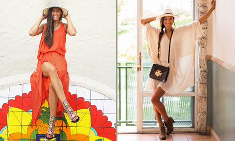 Day to Night Panama Hat Look