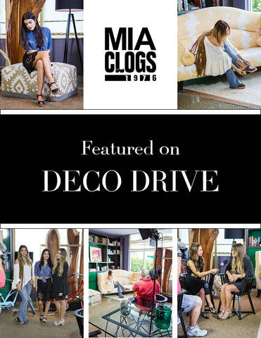 Featuring DECO DRIVE