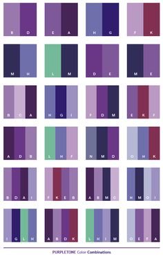 mauve color palette