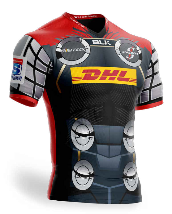 CAMISERA STORMERS THOR 2019 SUPER RUGBY