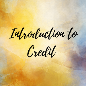 Introduction to Credit - Elevated Ambition