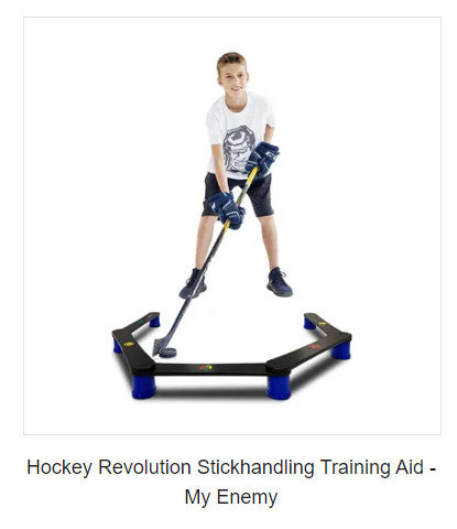 MY ENEMY - Stickhandling Training Aid, Equipment For Puck Control