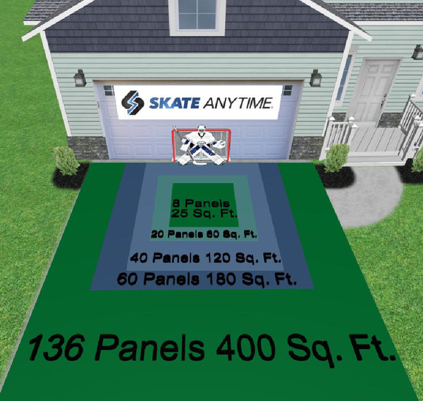 10′ X 18′ SYNTHETIC ICE RINK PACKAGE