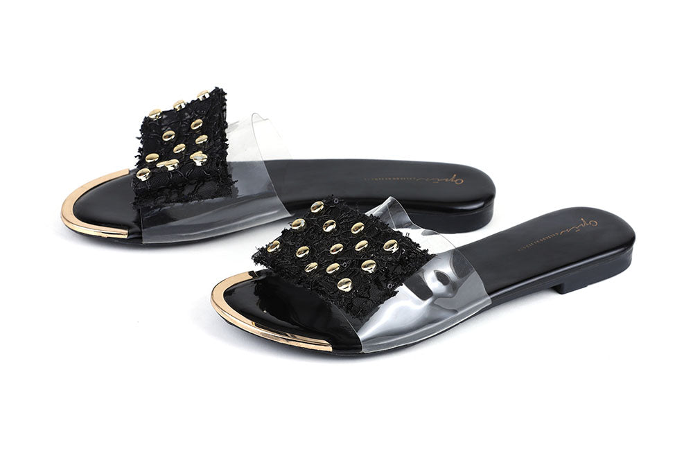 [shoes] - OPIA 8510-2  BLACK - LOGO | OPIA