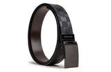 LOGO LEATHER BELT A1-229 BLACK - LOGO | OPIA
