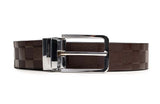 LOGO LEATHER BELT A1-230 BROWN - LOGO | OPIA