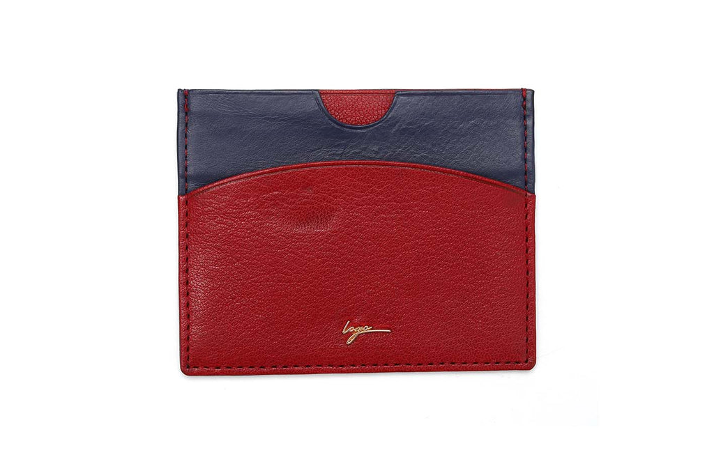 LOGO CARD WALLET CH184 RED - LOGO | OPIA