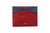 [shoes] - LOGO CARD WALLET CH184 RED - LOGO | OPIA