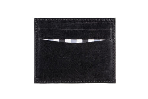 LOGO CARD WALLET CH187 BLACK