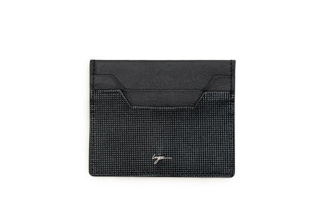 LOGO CARD WALLET CH243 BLACK