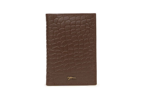 LOGO NOTE WALLET CHW270 BROWN