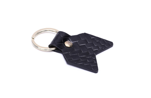 LOGO KEY CHAIN KC208 BLACK
