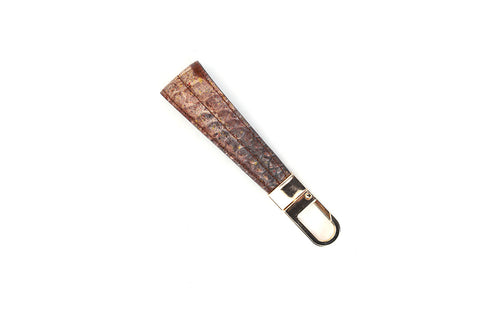 LOGO KEY CHAIN KC220 BROWN - LOGO | OPIA