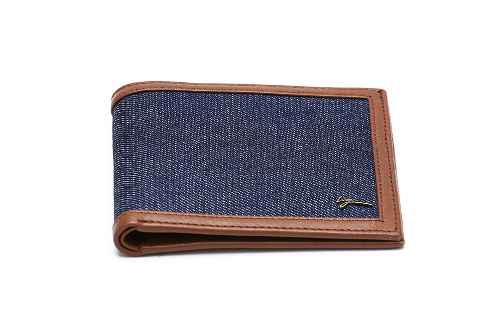 LOGO NOTE WALLET NW182 BLUE - LOGO | OPIA