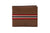LOGO NOTE WALLET NW204-BROWN