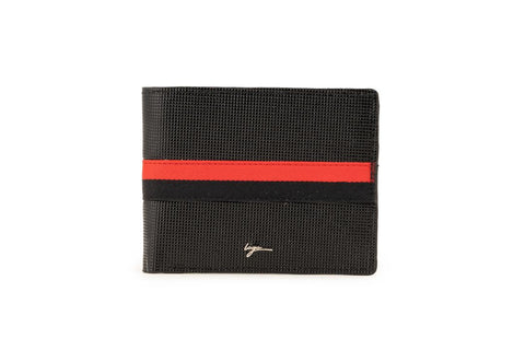 LOGO NOTE WALLET NW225 BLACK