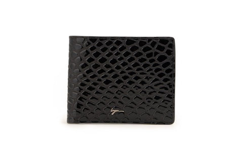 LOGO NOTE WALLET NW244 BLACK