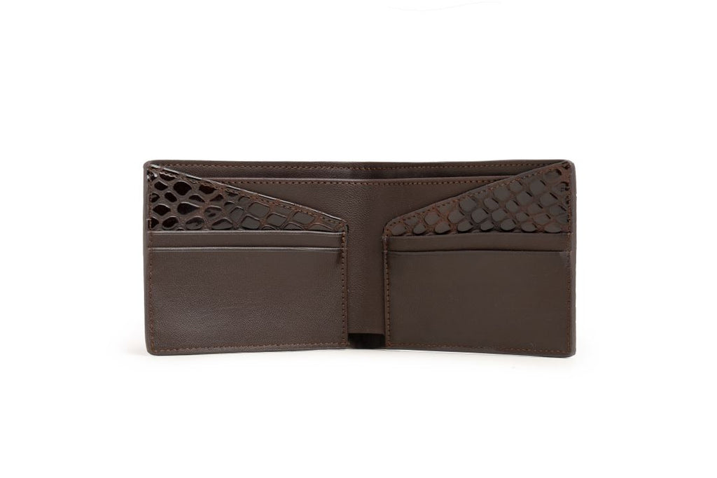 LOGO NOTE WALLET NW245 BROWN