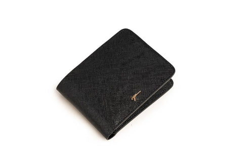 LOGO NOTE WALLET NW252 BLACK
