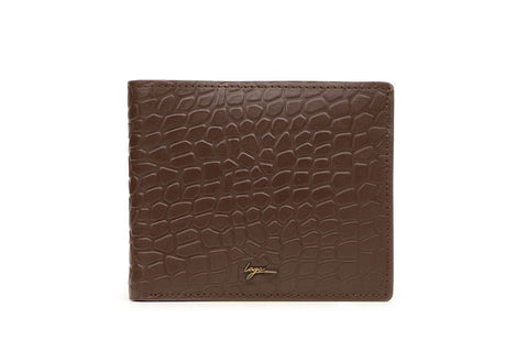 LOGO NOTE WALLET NW265 BROWN