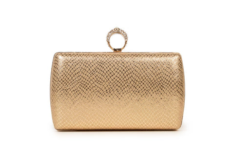 OPIA WOMEN CLUTCHES OCB037 GOLD