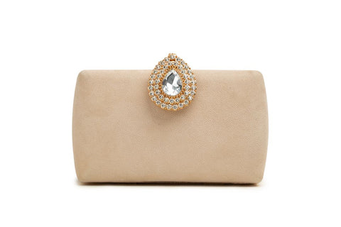 OPIA WOMEN CLUTCHES OCB040 BEIGE