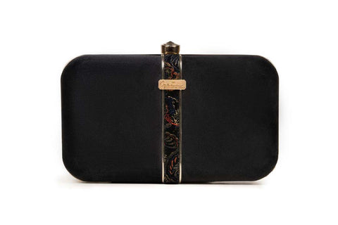 OPIA WOMEN CLUTCHES OCB041 BLACK