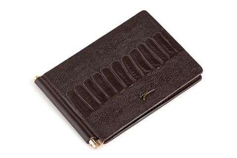 LOGO CARD WALLET PW189 BROWN