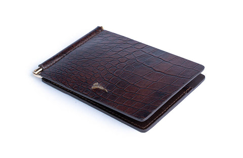 LOGO CARD WALLET PW213 BROWN - LOGO | OPIA