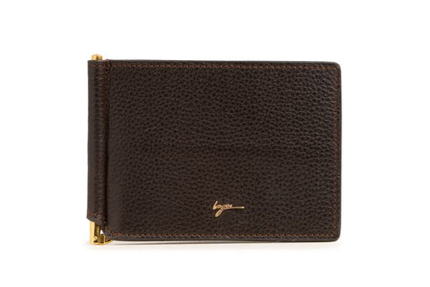 LOGO CARD WALLET PW257 BROWN