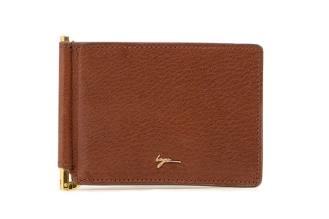LOGO CARD WALLET PW258 BROWN
