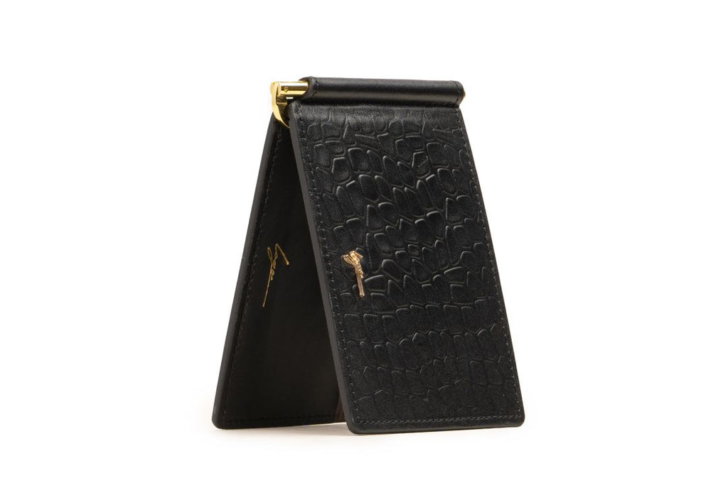 LOGO CARD WALLET PW263 BLACK