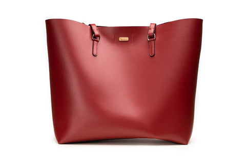 LADIES HANDBAG TBS027 RED - LOGO | OPIA
