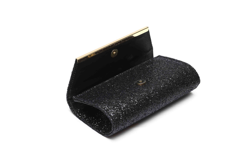 OPIA WOMEN CLUTCHES WB236 BLACK - LOGO | OPIA