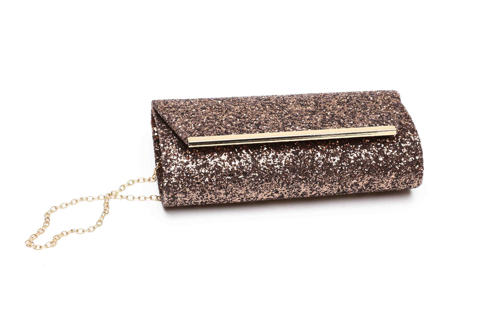 OPIA WOMEN CLUTCHES WB236 COFFEE - LOGO | OPIA