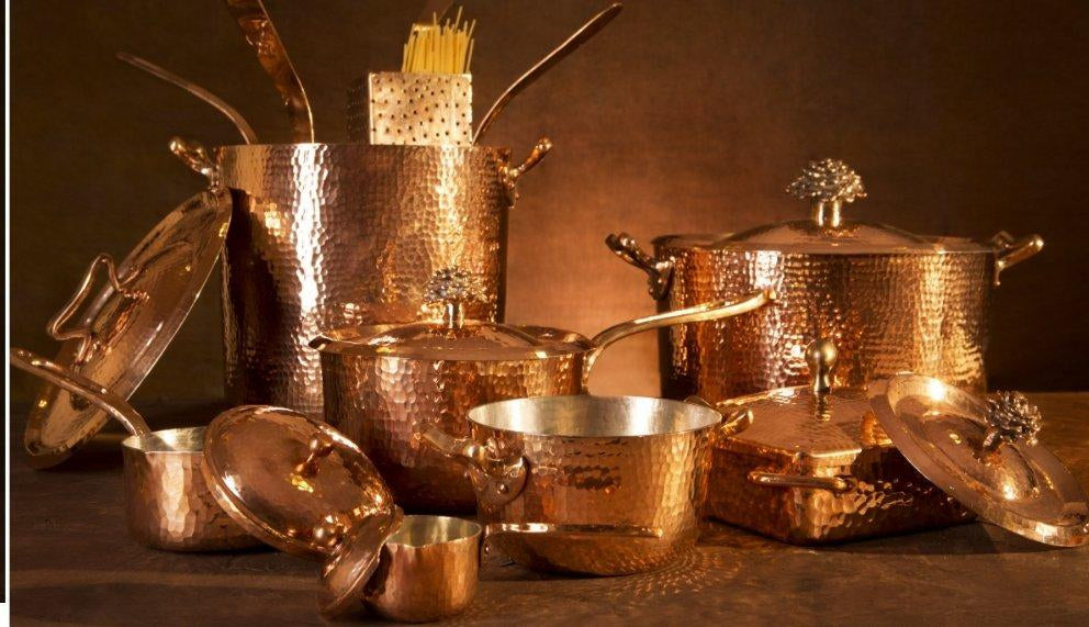 Why copper cookware is the best cooking tool
