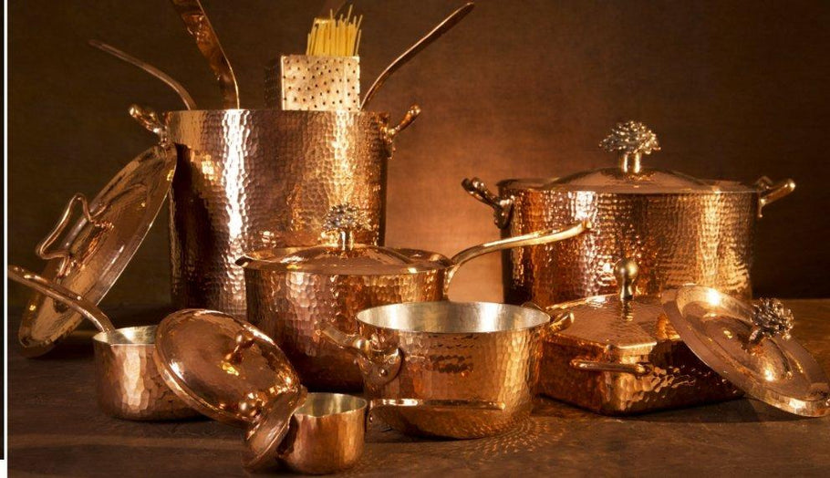 Why copper Cookware is the Queen of Pan