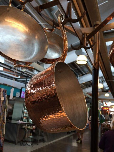 Amoretti Brothers Handcrafted Copper Cookware with Tin Lining