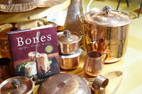 copper cookware by amoretti brothers and bones book