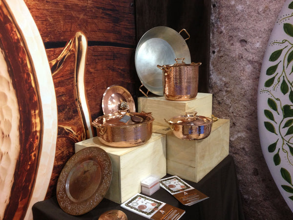 copper cookware tin lined amoretti brothers