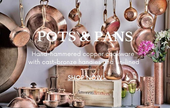 Shop the hammered copper cookware collection