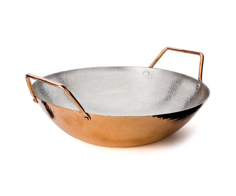 "14.5"" Copper Wok - AmorettiBrothers"