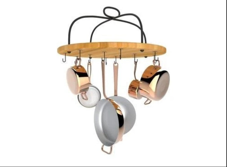 Round Cookware Rack - AmorettiBrothers