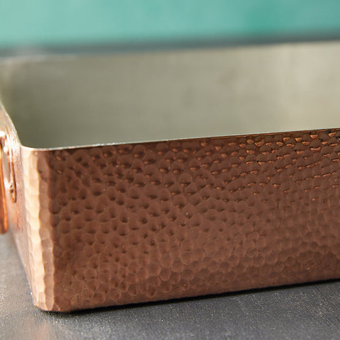 Copper Roasting Pan 13.7